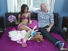 When Johnny Sins finds that his almost all worthwhile ally's sis is one of these attention-seeking cam angels, that fellow acquires it into his head that that guy'll be able to head over there and acquire a piece. And what do u know? This Chab does! It probably helps that Legal age teenagers Like It Large.