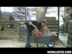 Halie Cummings, our busty lady ally, is out in her barn flirting with the creepy farmer from next door. This Sweetheart begins showing off her big farmer pointer sisters hoping to receive milked or receive milked on. That Sweetheart a freaky one that can't live out of getting porked all kinds of naughty ways......