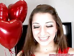 Glamorous and energetic Abby blows shlong and receives her face screwed merely to be bent over and acquire her soaked crack pounded until that sweetheart is pleasured then that sweetheart receives a biggest cum facial to go with her big smile.