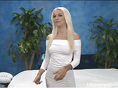 Sexy 18 year old hotty acquires drilled hard by her massage therapist!